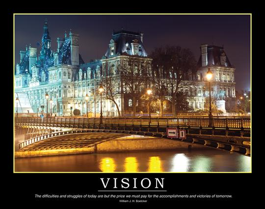 Vision Poster: 1st Edition (Poster) book cover
