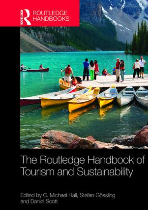 The Routledge Handbook of Tourism and Sustainability: 1st Edition (Paperback) book cover