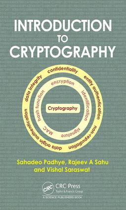 Introduction to Cryptography: 1st Edition (Hardback) book cover