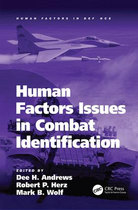 Human Factors Issues in Combat Identification book cover