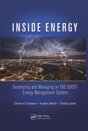 Inside Energy: Developing and Managing an ISO 50001 Energy Management System, 1st Edition (Paperback) book cover