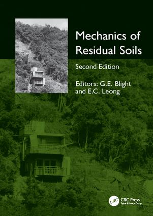 Mechanics of Residual Soils: 2nd Edition (Paperback) book cover