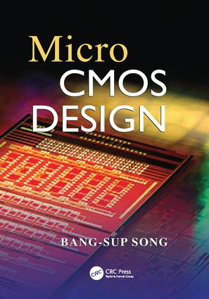 MicroCMOS Design: 1st Edition (Paperback) book cover