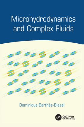 Microhydrodynamics and Complex Fluids: 1st Edition (Paperback) book cover
