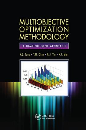 Multiobjective Optimization Methodology: A Jumping Gene Approach, 1st Edition (Paperback) book cover