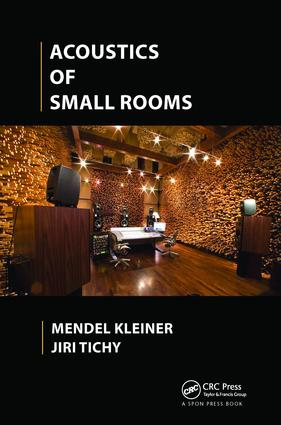 Acoustics of Small Rooms: 1st Edition (Paperback) book cover