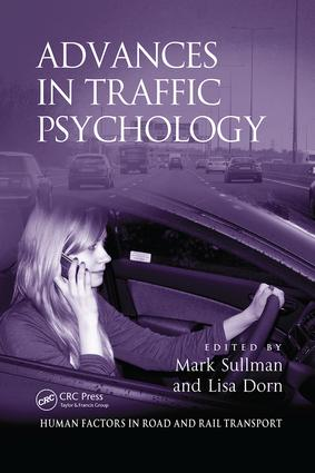 Advances in Traffic Psychology: 1st Edition (Paperback) book cover