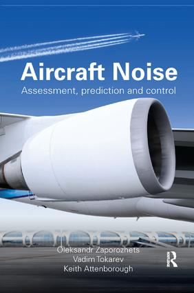 Aircraft Noise: Assessment, Prediction and Control book cover