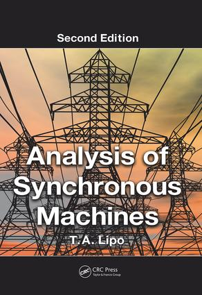 Analysis of Synchronous Machines: 2nd Edition (Paperback) book cover