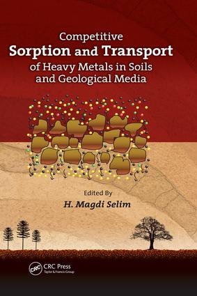 Competitive Sorption and Transport of Heavy Metals in Soils and Geological Media: 1st Edition (Paperback) book cover
