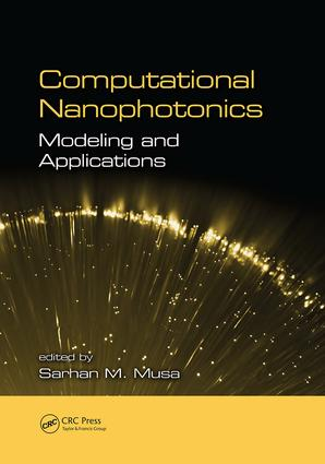 Computational Nanophotonics: Modeling and Applications, 1st Edition (Paperback) book cover