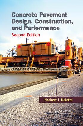 Concrete Pavement Design, Construction, and Performance: 2nd Edition (Paperback) book cover