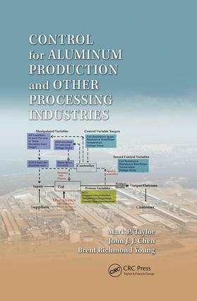 Control for Aluminum Production and Other Processing Industries: 1st Edition (Paperback) book cover