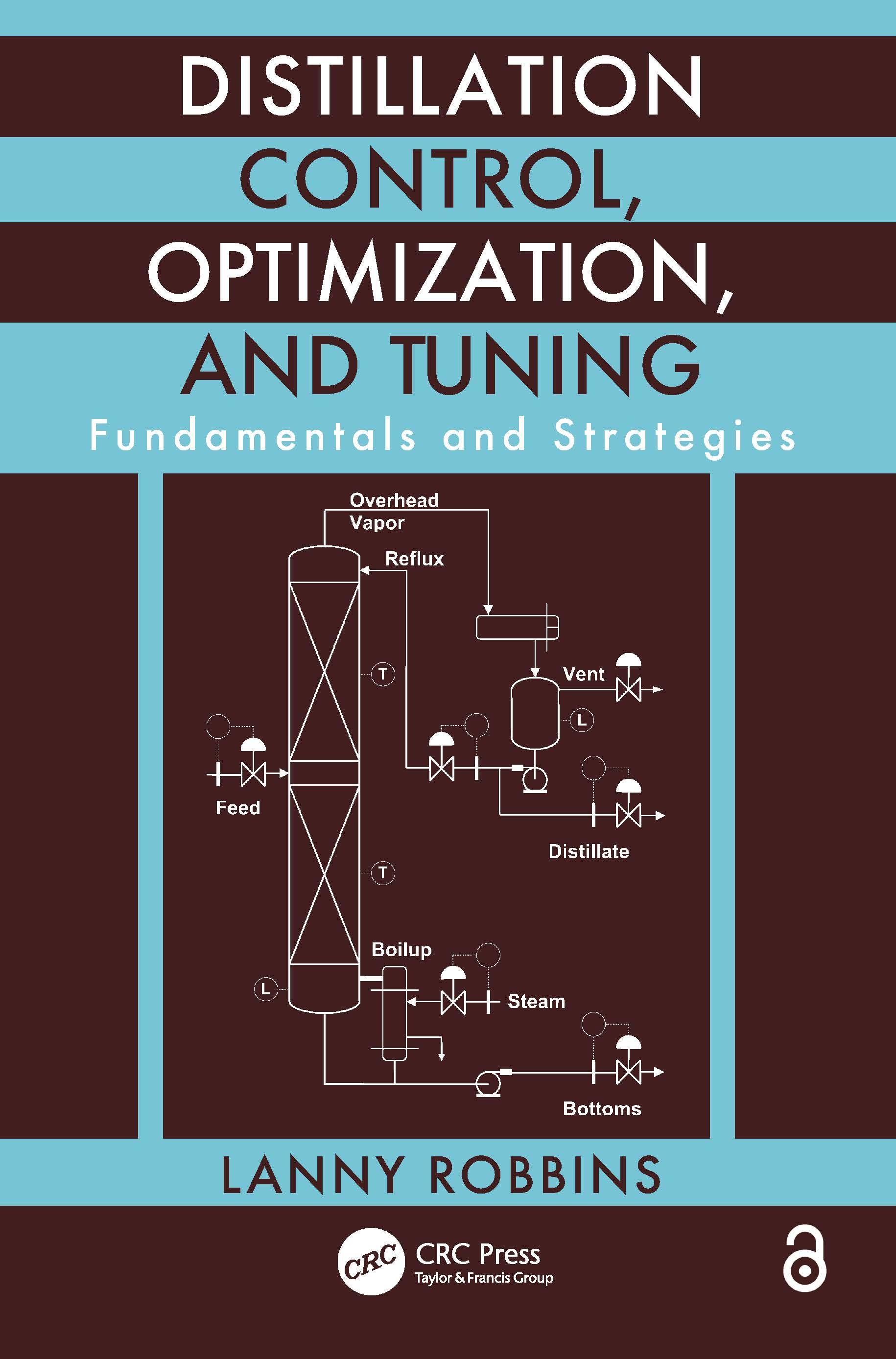 Distillation Control, Optimization, and Tuning: Fundamentals and Strategies, 1st Edition (Paperback) book cover