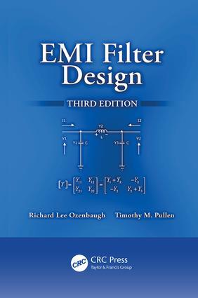 EMI Filter Design: 3rd Edition (Paperback) book cover