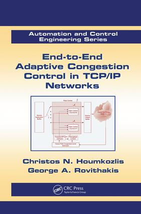 End-to-End Adaptive Congestion Control in TCP/IP Networks: 1st Edition (Paperback) book cover