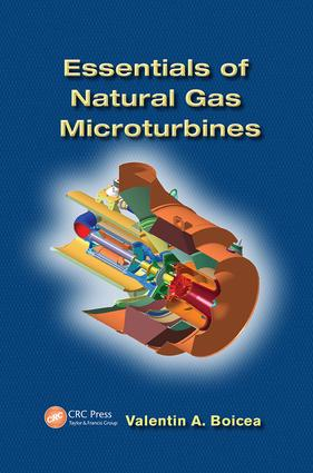 Essentials of Natural Gas Microturbines: 1st Edition (Paperback) book cover