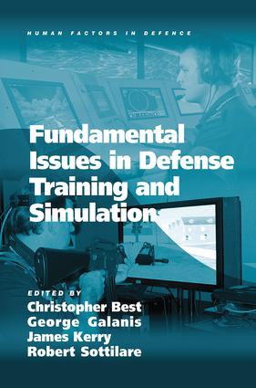 Fundamental Issues in Defense Training and Simulation: 1st Edition (Paperback) book cover