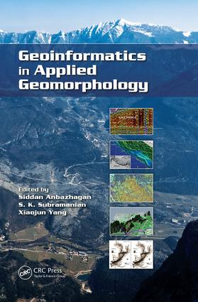 Geoinformatics in Applied Geomorphology: 1st Edition (Paperback) book cover