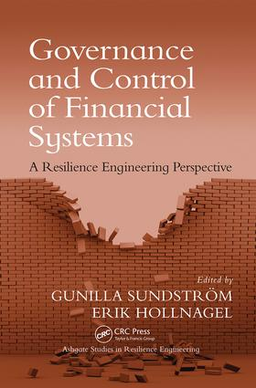 Governance and Control of Financial Systems: A Resilience Engineering Perspective, 1st Edition (Paperback) book cover