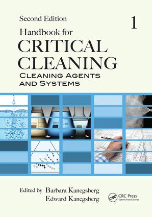 Handbook for Critical Cleaning: Cleaning Agents and Systems, Second Edition, 2nd Edition (Paperback) book cover
