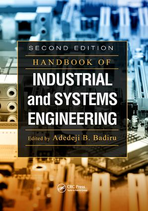 Handbook of Industrial and Systems Engineering: 2nd Edition (Paperback) book cover