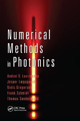 Numerical Methods in Photonics: 1st Edition (Paperback) book cover