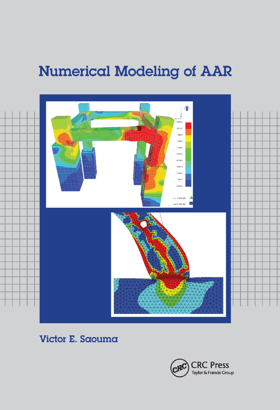 Numerical Modeling of AAR: 1st Edition (Paperback) book cover