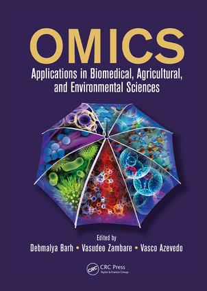 OMICS: Applications in Biomedical, Agricultural, and Environmental Sciences, 1st Edition (Paperback) book cover
