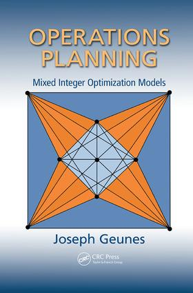 Operations Planning: Mixed Integer Optimization Models book cover