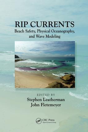 Rip Currents: Beach Safety, Physical Oceanography, and Wave Modeling, 1st Edition (Paperback) book cover