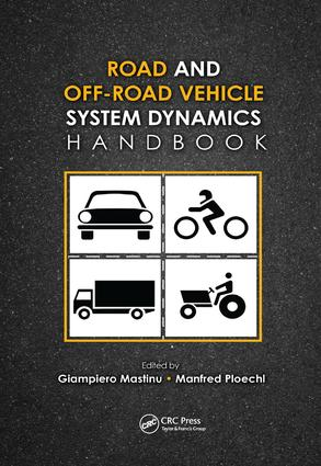 Road and Off-Road Vehicle System Dynamics Handbook: 1st Edition (Paperback) book cover
