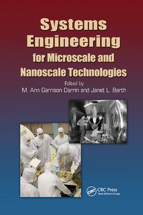 Systems Engineering for Microscale and Nanoscale Technologies: 1st Edition (Paperback) book cover