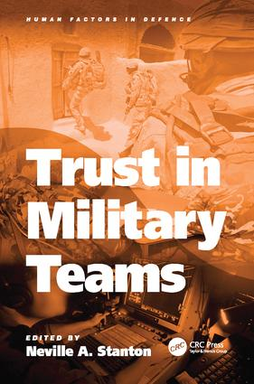 Trust in Military Teams book cover