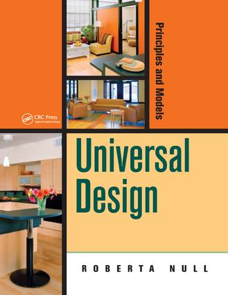 Universal Design: Principles and Models book cover