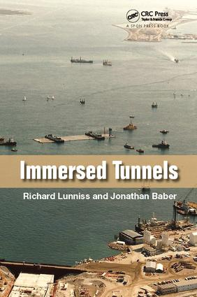 Immersed Tunnels: 1st Edition (Paperback) book cover