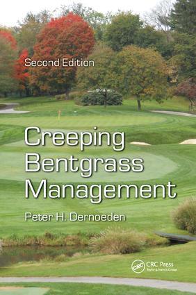 Creeping Bentgrass Management book cover