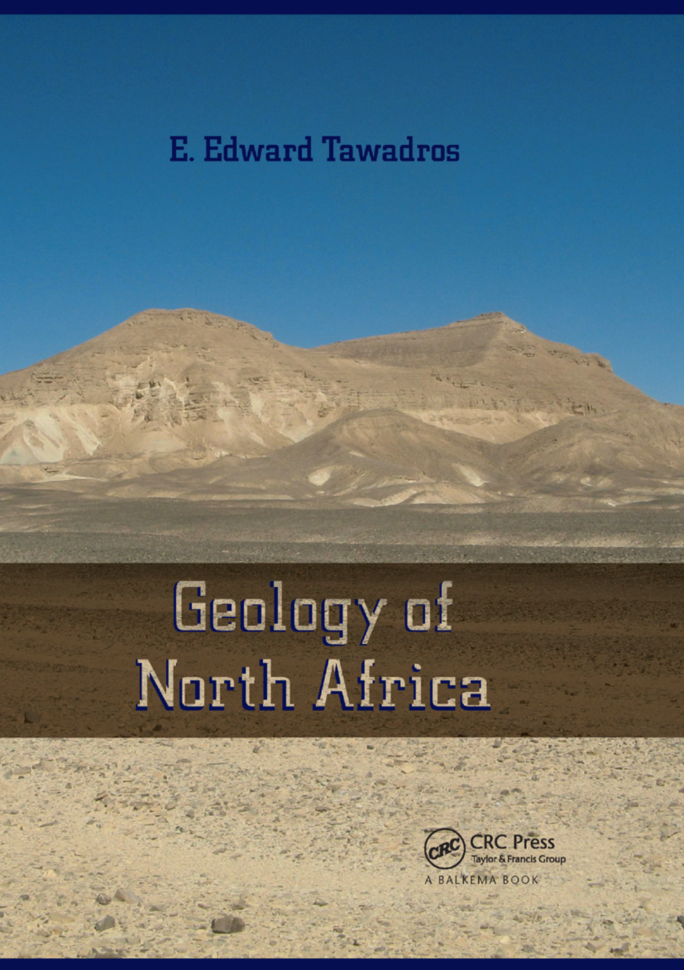 Geology of North Africa: 1st Edition (Paperback) book cover