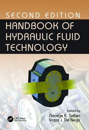 Handbook of Hydraulic Fluid Technology, Second Edition: 2nd Edition (Paperback) book cover