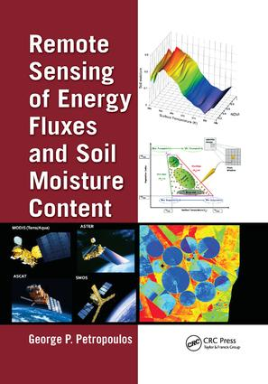 Remote Sensing of Energy Fluxes and Soil Moisture Content (Paperback) book cover