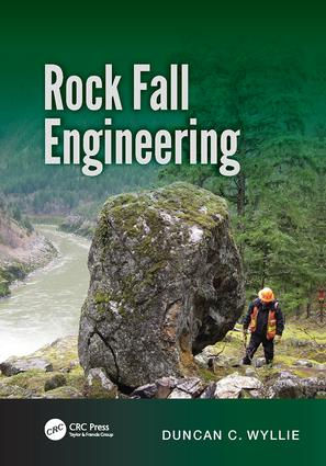 Rock Fall Engineering: 1st Edition (Paperback) book cover