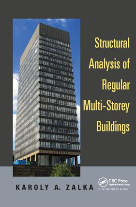 Structural Analysis of Regular Multi-Storey Buildings: 1st Edition (Paperback) book cover