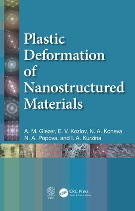 Plastic Deformation of Nanostructured Materials: 1st Edition (Hardback) book cover