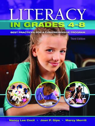 Literacy in Grades 4-8: Best Practices for a Comprehensive Program book cover
