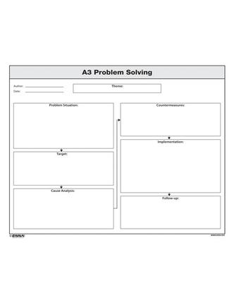 A3 Problem Solving Form: 1st Edition (Loose-leaf) book cover