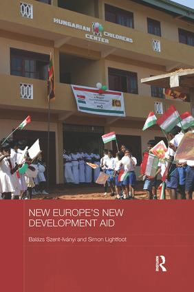 New Europe's New Development Aid book cover