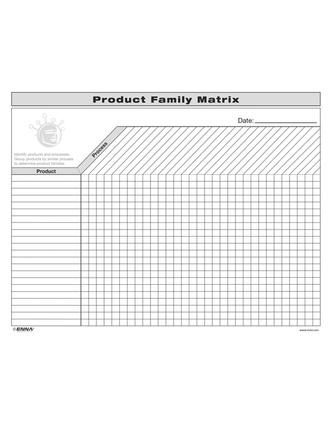 VSM: Product Family Matrix: Product Family Matrix, 1st Edition (Loose-leaf) book cover