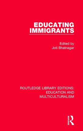 Educating Immigrants book cover