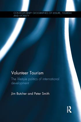 Volunteer Tourism: The lifestyle politics of international development book cover