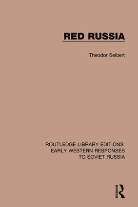Red Russia: 1st Edition (Hardback) book cover
